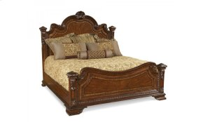 Old World California King Estate Bed