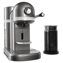 Nespresso® Espresso Maker by KitchenAid® with Milk Frother - Medallion Silver