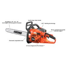 ECHO CS-370 36.3cc Easy-Starting Chain Saw