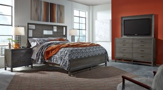 Queen Hayden Bed (Asymmetrical)