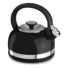 2.0-Quart Kettle with Full Handle and Trim Band - Onyx Black