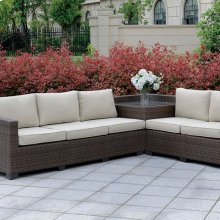 Bushnell Sectional W/corner Table