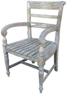 Rfls Arm Chair - Rw/wht