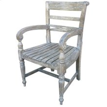 Rfls Arm Chair - Rw/wht