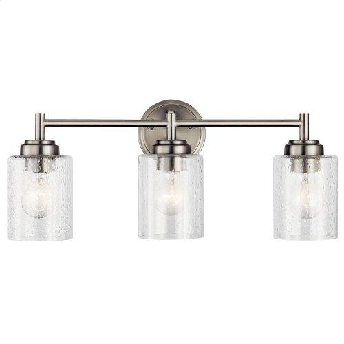 Winslow 3 Light Vanity Light Brushed Nickel