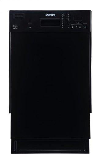 "Danby 18"" Black Built In Dishwasher"