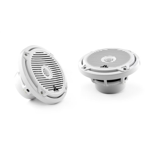 6.5-inch (165 mm) Cockpit Coaxial System, White Classic Grilles