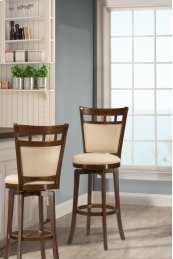 Jefferson Swivel Bar Stool