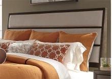Queen Uph Headboard & Footboard - Linen
