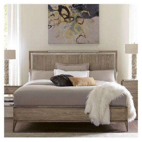 Sophie King Panel Bed Natural finish