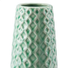 Rombo Lg Vase Light Green