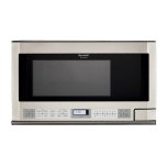 SharpSharp Carousel Over-the-Counter Microwave Oven 1.5 cu. ft. 1100W Stainless Steel