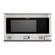 Sharp Carousel Over-the-Counter Microwave Oven 1.5 cu. ft. 1100W Stainless Steel