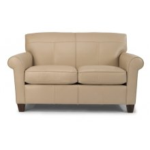 Dana Leather Loveseat