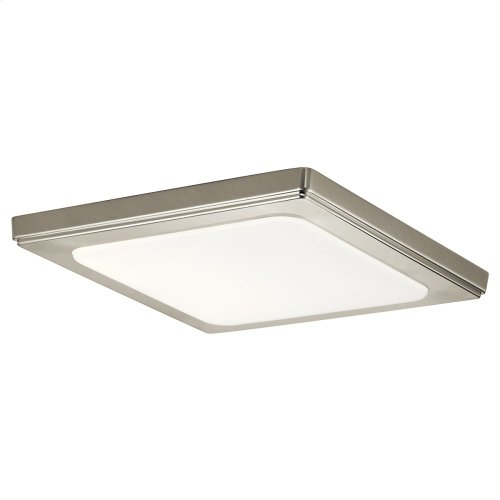 Zeo Collection Zeo 3000K LED 10 Inch square Flushmount NI