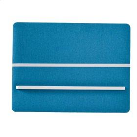 Blue Fabric Memo Board