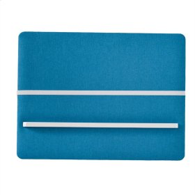 Blue Fabric Memo Board