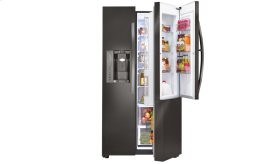 LG Black Stainless Steel Series 26 cu. ft. Side-by-Side Refrigerator w/ Door-in-Door®