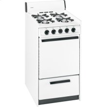 "Hotpoint® 20"" Compact Gas Range"