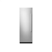 "30"" Built-In Column Refrigerator with NOIR Panel Kit, Left Swing"