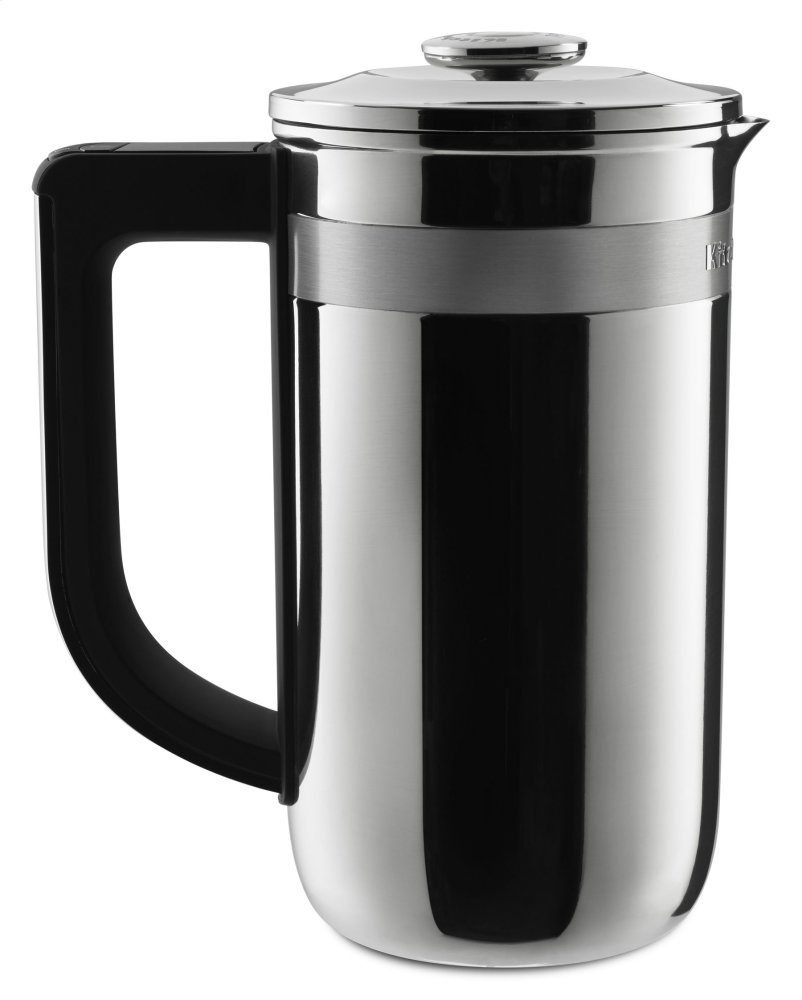Precision Press Coffee Maker - Stainless Steel  STAINLESS STEEL