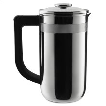 Precision Press Coffee Maker - Stainless Steel
