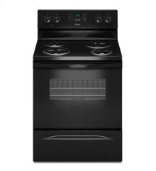 4.8 cu. ft. Capacity Electric Range with Custom Broil