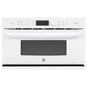 GE Profile Series 30 in. Single Wall Oven with Advantium® Technology - WHITE