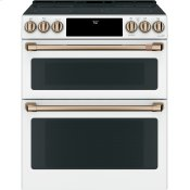"30"" Smart Slide-In, Front-Control, Radiant and Convection Double-Oven Range"