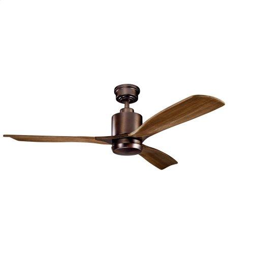 """Ridley II LED 52"""" Fan Oil Brushed Bronze"""