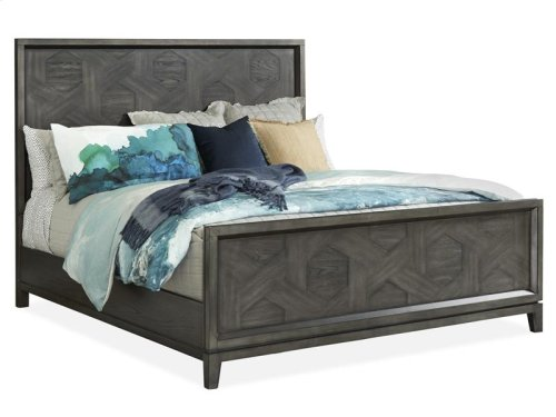 Complete King Pattern Bed