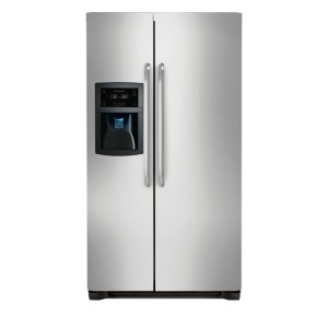 22.2 Cu. Ft. Counter-Depth Side-by-Side Refrigerator - STAINLESS STEEL