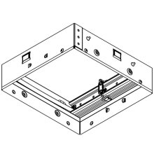 Radiation Damper for Flex and Flex DC Series Bathroom Exhaust Fans and Fans with Lights