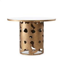 Matisse Dining Table, Champagne Gold