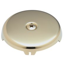 Faceplate for Waste & Overflow - English Brass