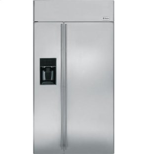 "GE Monogram® 42"" Built-In Side-by-Side Refrigerator with Dispenser- Out of Carton"
