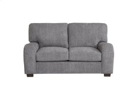 Loveseat - Salt \u0026 Pepper Chenille Finish