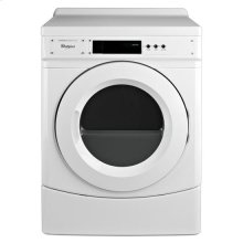 "Whirlpool® 27"" Commercial Electric Dryer - White"