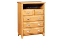 5 Drawer Media Chest