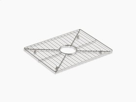"Stainless Steel Stainless Steel Sink Rack, 17-3/16"" X 13-3/16"", for Kitchen Sink"