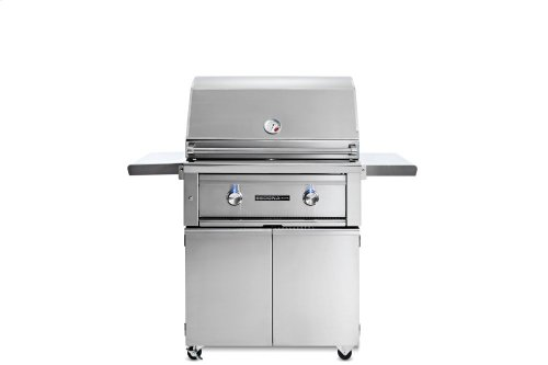 """30"""" Sedona by Lynx Freestanding Grill with 1 Stainless Steel Burner and ProSear Burner, LP"""