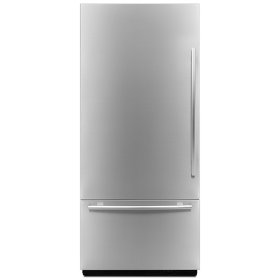 "Euro-Style 36"" Fully Integrated Built-In Bottom-Freezer Left-Hand Door Swing"