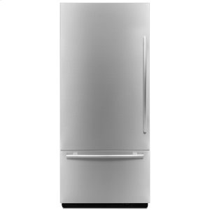 "Jenn-AirEuro-Style 36"" Fully Integrated Built-In Bottom-Freezer Left-Hand Door Swing"