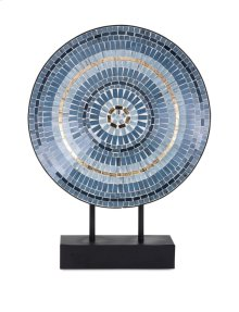 TY Cowboy Mosaic Charger on Stand