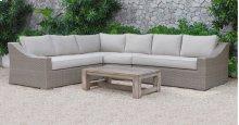 Renava Pacifica Outdoor Beige Sectional Sofa Set