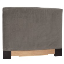 Twin Slipcovered Headboard Bella Pewter