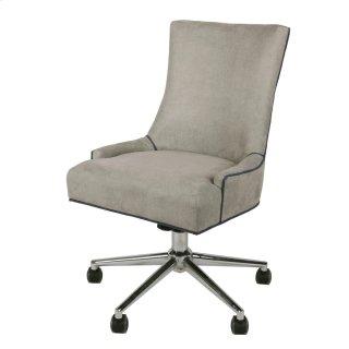 Charlotte Fabric Office Chair, Denim Dove