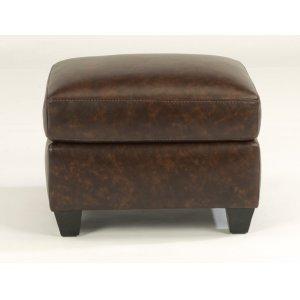 FLEXSTEELRoscoe Leather Ottoman