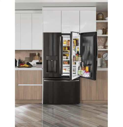 GE® 27.8 Cu. Ft. French-Door Refrigerator with Door In Door-CLOSEOUT