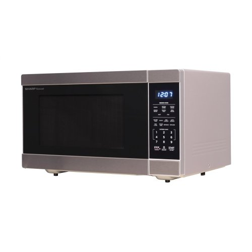 1100w Stainless Steel Countertop Microwave Oven